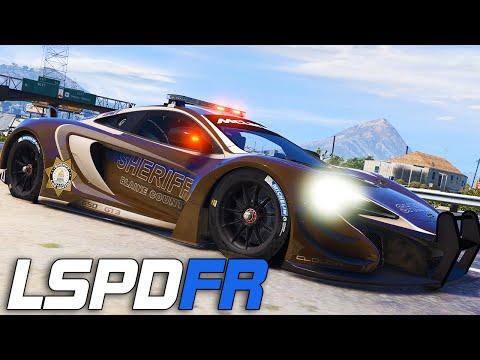 LSPDFR #159 -  McLaren Sheriff!