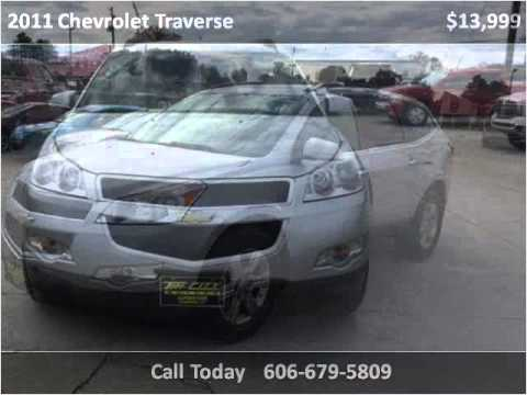 2011 chevrolet traverse used cars somerset ky youtube for Traverse city motors used cars