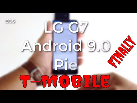 LG G7 Update 9.0 Pie FINALLY !! | T-Mobile Version Is Here | Download It NOW !!