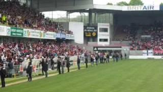 [En Avant Guingamp] Une Ola au Stade du Roudourou