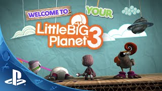LittleBigPlanet 3 - Gamescom - Create and Share Trailer | PS4