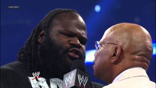 Friday Night SmackDown -  General Manager Theodore Long suspends Mark Henry