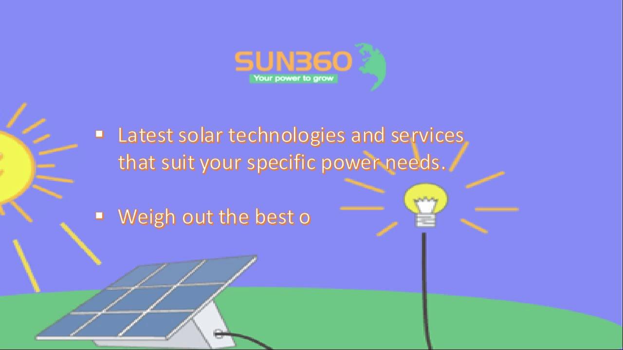 Best Solar Power Company in Goa | Sun360