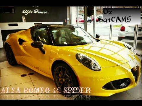 The Italian Job! Alfa Romeo 4C