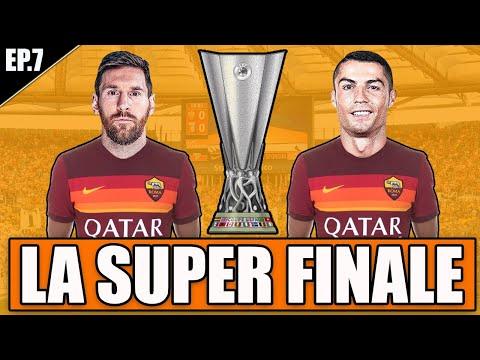 🏆 LA SUPER FINALE DI EUROPA LEAGUE!! + FINALE DI STAGIONE!! FIFA 21 CARRIERA ALLENATORE ROMA #7