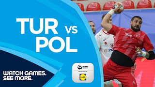 Turkey vs Poland Highlights EHF EURO 2022 Qualifiers