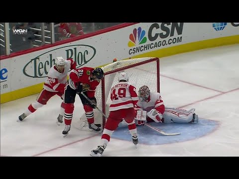 Gotta See It: Saad scores hat trick in return to United Center