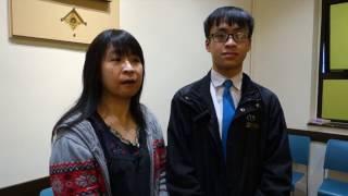 Publication Date: 2017-04-12 | Video Title: 20170322香港仔工業學校學生張朗晧復活節領洗前分享/公