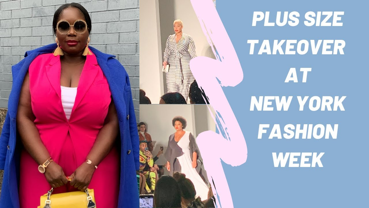 What It S Like Being Plus Size At New York Fashion Week Day 1 2 Youtube
