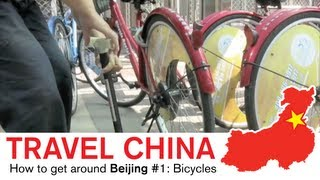 China Travel - How to get around Beijing #1, Bicycles.