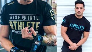 Обзор мужских футболок с АлиЭкспресс - Alphalete, Athlete, Gigante