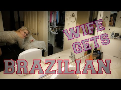 Letting my HUSBAND give me a BRAZILIAN WAX  First time