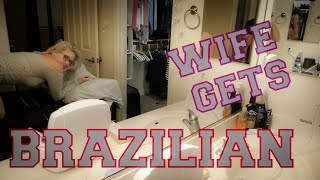 Baixar Letting my HUSBAND give me a BRAZILIAN WAX | First time