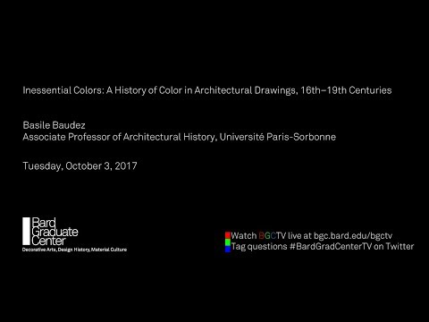 Inessential Colors: A History of Color in Architectural Drawings, 16th–19th Centuries