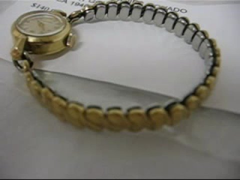 Vintage 1940's Ladies 17 Jewel Movado Watch For Sale 140.00