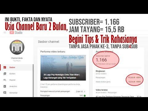 Cara Bikin Channel YouTube Dua Bulan Langsung Monetisasi