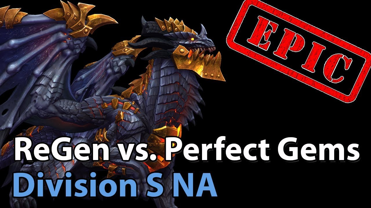 ► EPIC Perfect Gems vs. ReGen - Division S NA - Heroes of the Storm Esports