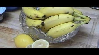 """How to Make Lemon Banana Natural Homemade Face Mask For All Types of Skin & Aging Mature Skin"" Thumbnail"
