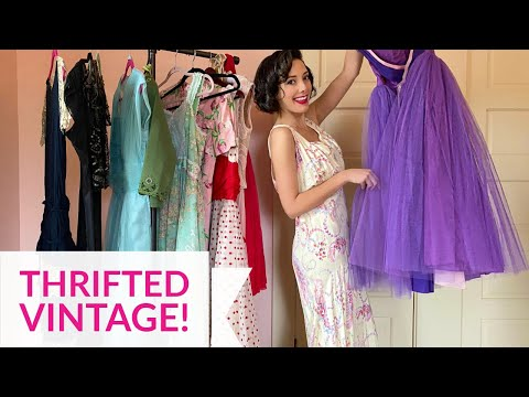 Thrift Store Vintage Clothing - Goodwill - Auctions - Estate Sales