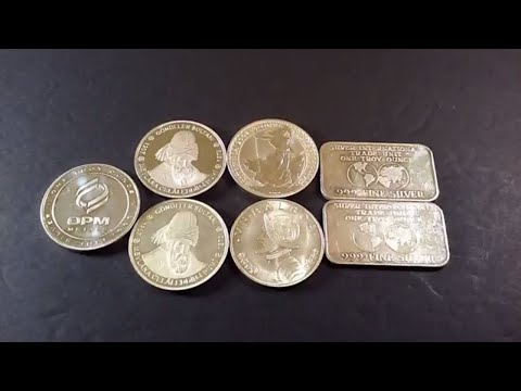 Unique Silver Coins and some vintage bullion