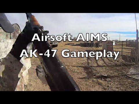 Airsoft AK-47 Gameplay - American Paintball Coliseum