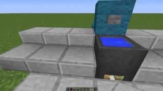 Как сделать механический туалет в майнкрафте