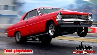 Chicagoland Super Stocks:  Drag Racing at Byron Wheelstand Contest