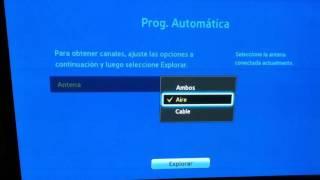 Señal digital HD gratis sin necesidad de antenas, Plasma Samsung Pop TV [Abril 2017] 10 canales.