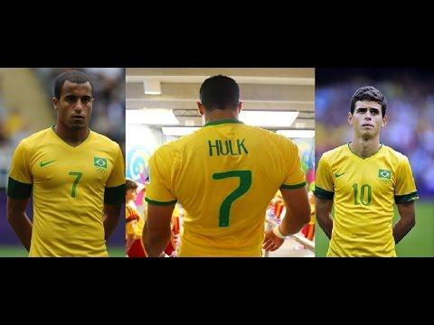 Copa America 2015 ● Hulk - Lucas - Oscar  ● Brazil