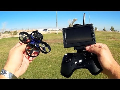 DLFPV DL 1060 Micro FPV RTF with Monitor Flight Test Review
