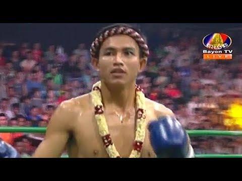 Phal Sophorn vs Lekpetch(thai), Khmer Boxing Bayon 22 April 2018, Kun Khmer vs Muay Thai