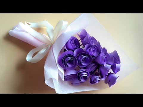 Abc tv how to make twisted rose paper flower and wrap flower abc tv how to make twisted rose paper flower and wrap flower craft tutorial mightylinksfo