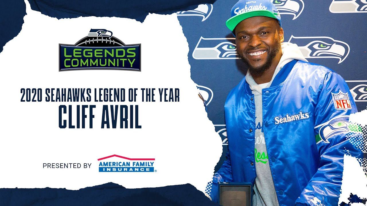 2020 Seahawks Legend of the Year: Cliff Avril