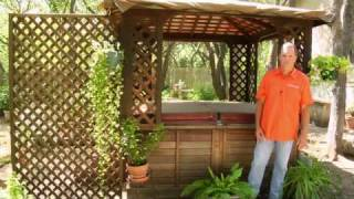 Lawn Care & Design : Landscaping Around A Hot Tub