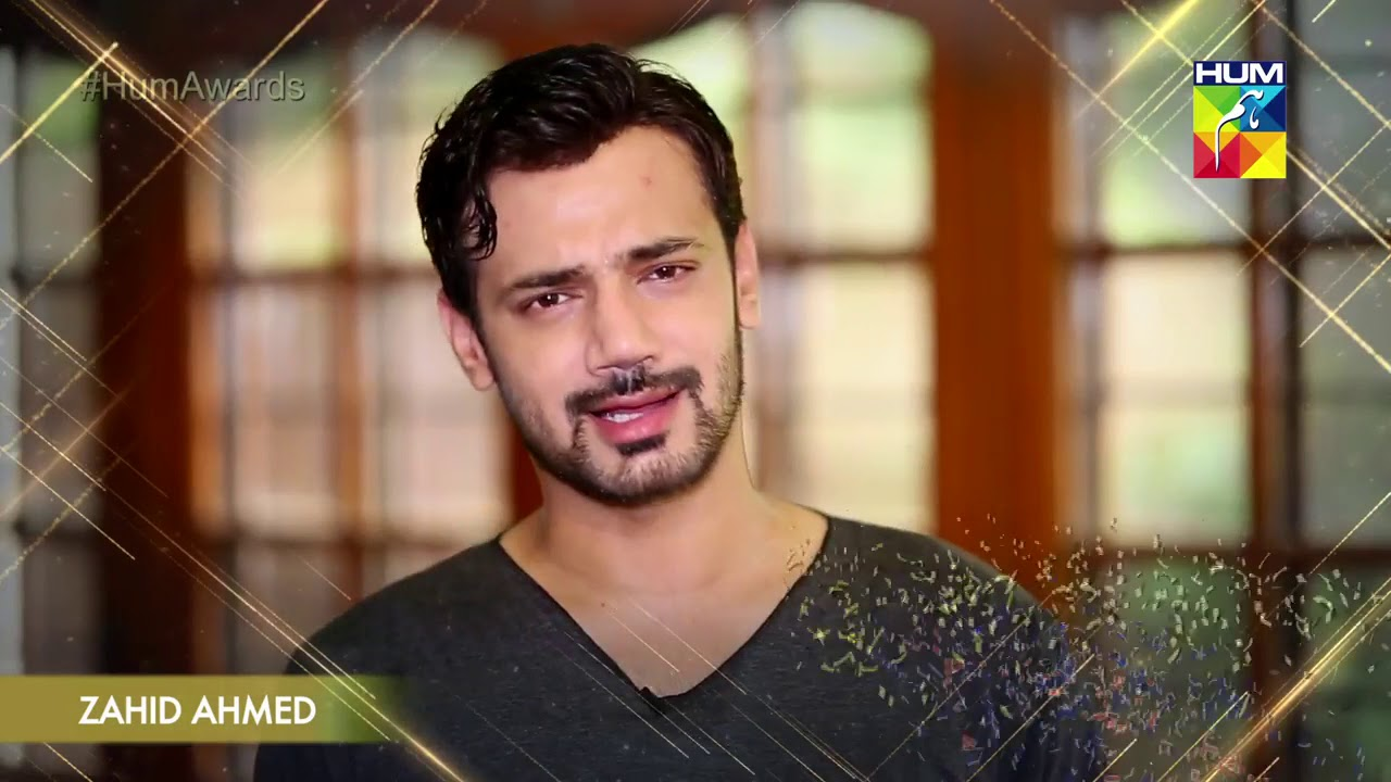 Kashmir 6th HUM Awards 2018 ZAHID AHMED