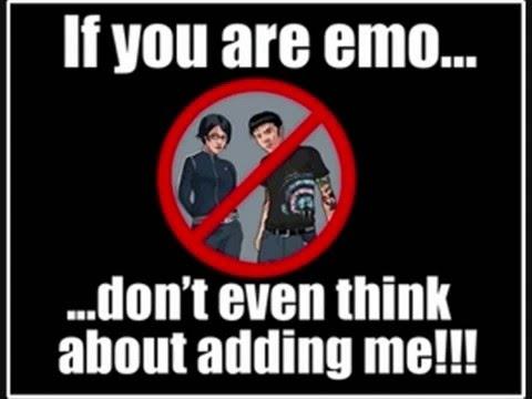 METAL!! vs emo...