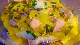 Как вкусно приготовить сочную красную рыбу | Блюда в микроволновке | Блюда из рыбы Пальчики оближешь