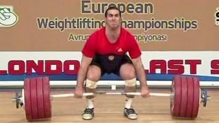 2012 European Weightlifting Championships, Men 105 kg  Тяжелая Атлетика. Чемпионат Европы(, 2016-06-11T11:36:42.000Z)