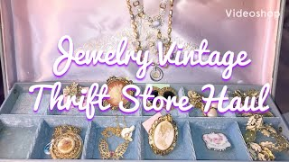 Jewelry Vintage Thrift Store Haul