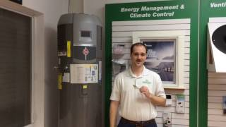 sgs hybrid water heater video