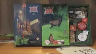 Подарочный набор Книга здоровья Алтай старовер (Мед с пантами марала, бальзамы, мумие, смолка)