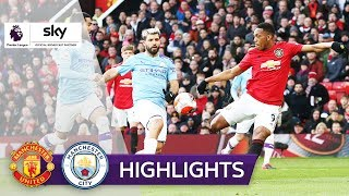 Martial & Ederson entscheiden das Derby | Manchester United - Manchester City 2:0 | Highlights
