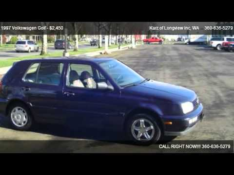 1997 Volkswagen Golf 4-DOOR - for sale in Longview, WA 98632