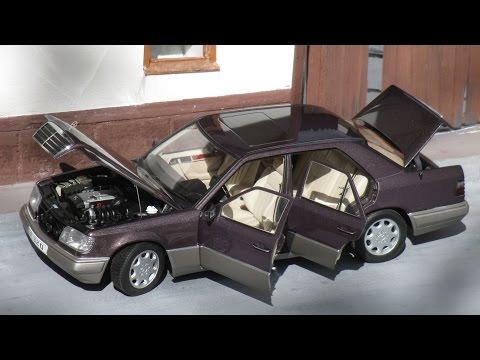 1:18 Mercedes-Benz W124 E320 '95 bornit - AutoArt (Dealer edition)