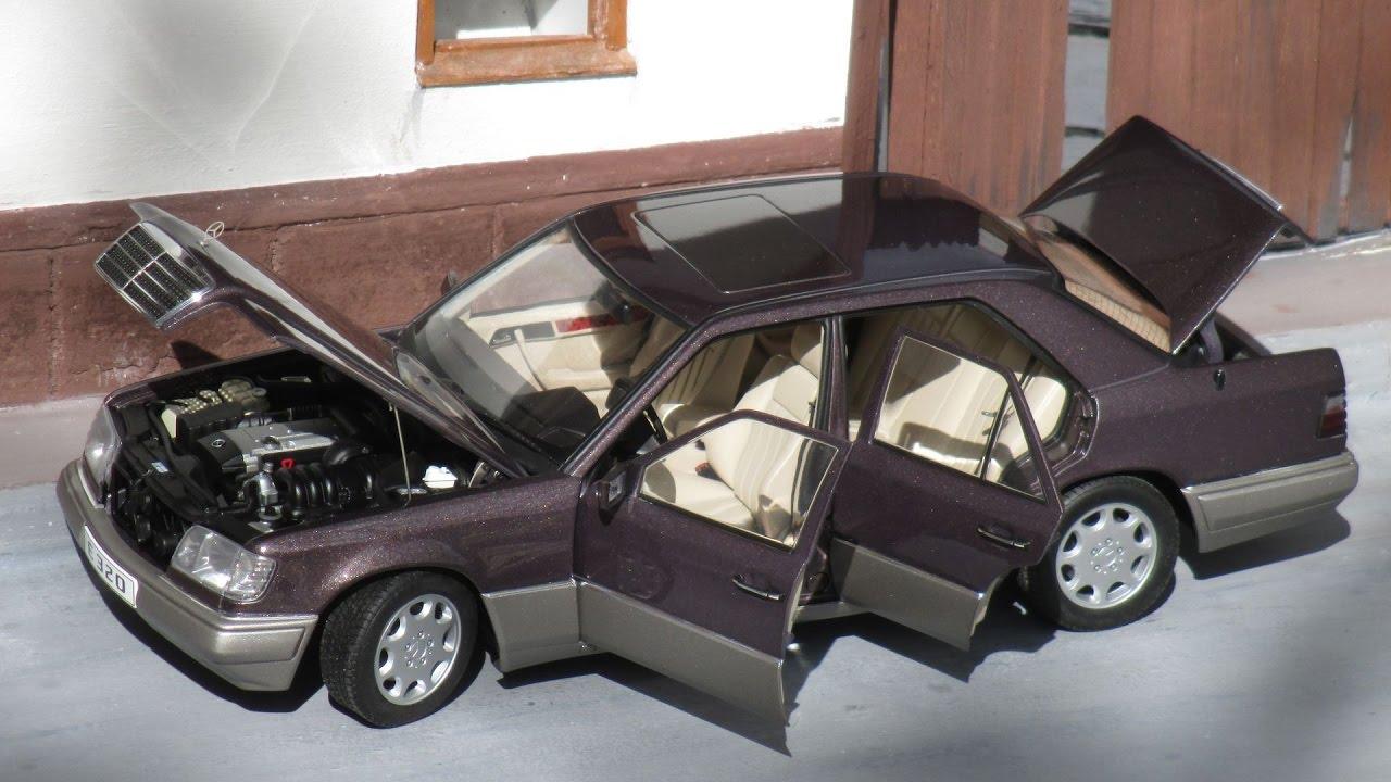 1 18 mercedes benz w124 e320 39 95 bornit autoart dealer for 95 mercedes benz e320