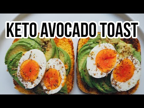 ��KETO AVOCADO TOAST / PERFECT KETO BREAKFAST IN 5 MINUTES / Manu Echeverri
