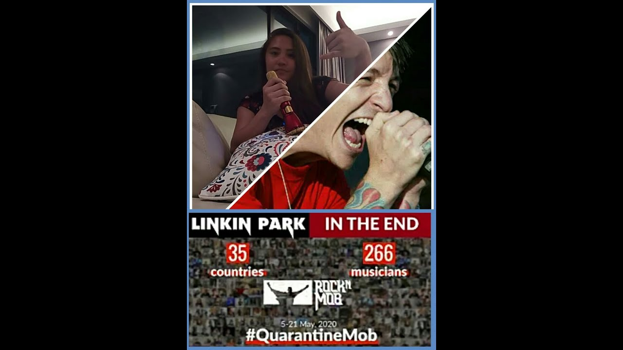 In The End - Linkin Park. Joining 266 musicians from 35 countries 😅💙 #QuarantineMob RockMob