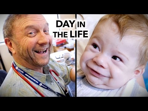 A CRAZY DAY IN THE LIFE of a busy pediatrician (6am-9:45pm) | Dr. Paul