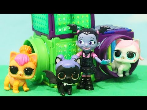 Thumbnail: LOL Pets - Vampirina Finds Midnight's Dog - Family Fun Pretend Baby Doll Play With Toys and Dolls