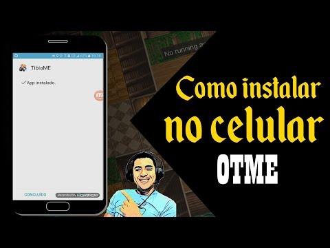 TIBIAME OTSERV - COMO INSTALAR O OTME BETA NO CELULAR!!!